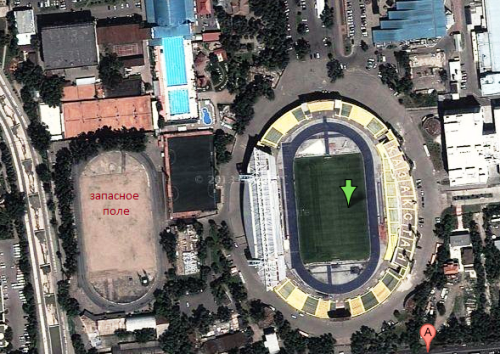 Стадион Центральный (запасное поле)