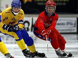 Россияне ишведы схлестнутся уже впервый день чемпионата мира вОбухово (Фото svenskbandy. se)