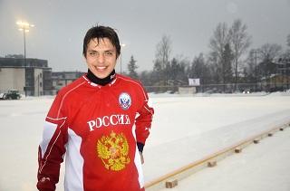 Рустам Тургунов— лучший нападающий иигрок чемпионата мира среди юниоров (Фото Евгения Конова)