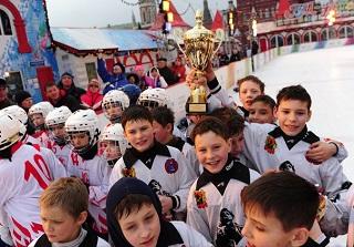 Воспитанники «Кузбасса» вмарте выиграли финал турнира напризы Святейшего Патриарха наКрасной площади (фото ФХМР)