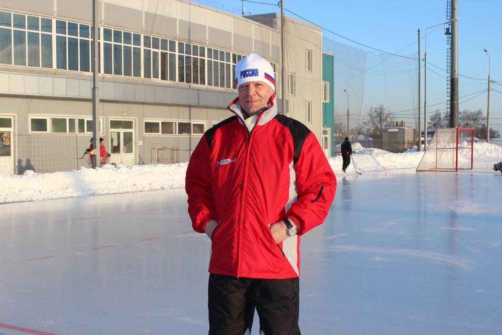 Играющий тренер сборной Германии Олег Шибельбайн в Обухово.