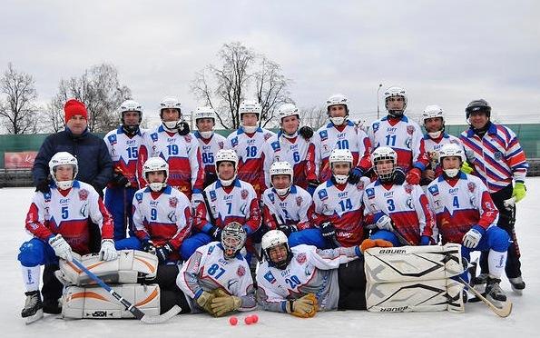 Победитель турнира «Вымпел» Королёв (фото http://www.korolev-bandy.com/ )