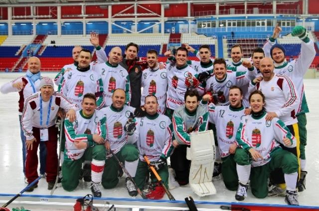 3 место - сборная Венгрии