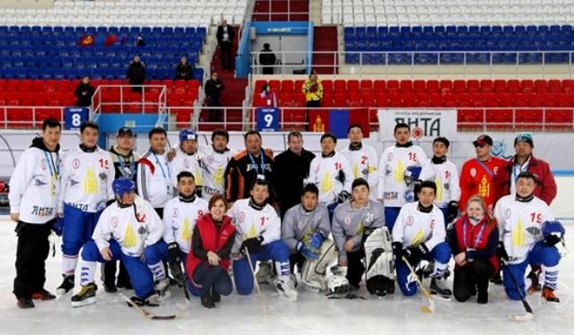 7 место - сборная Моголии