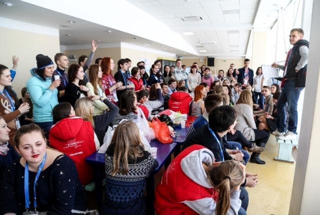 Хабаровские волонтеры - полноправные участники  чемпионата