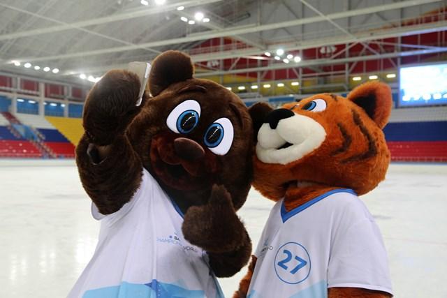 Тоша и Ероша - талисманы XXXV Чемпионата мира