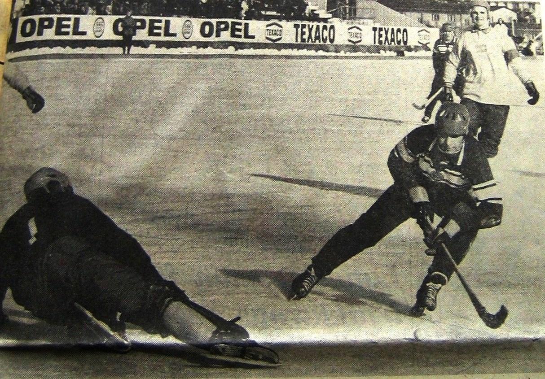 СССР- Швеция 2-1. Прорыв Фролова завершается голом