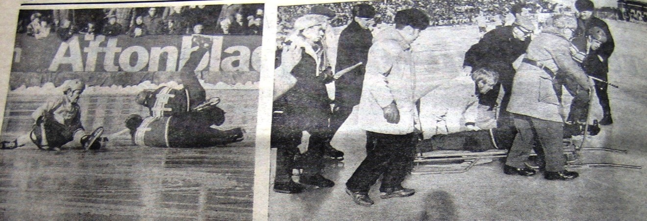 СССР- Швеция 2-1. Травма Георгия Канарейкина