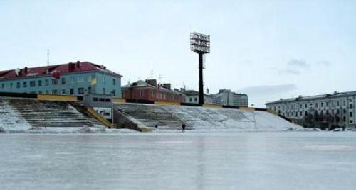 Стадион Строитель