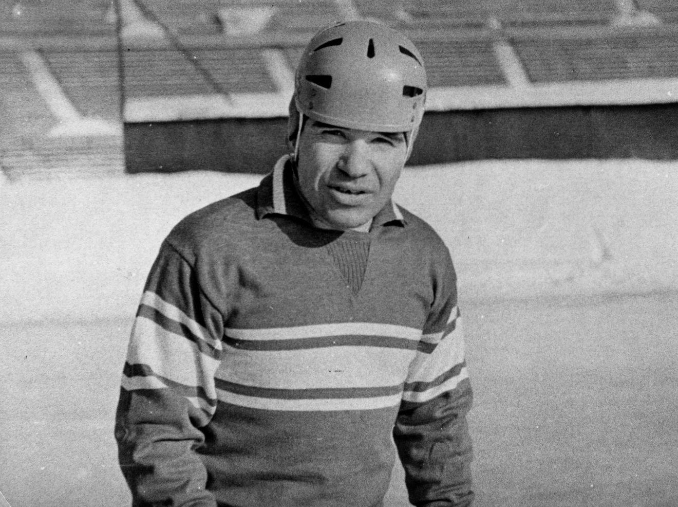ЧМ-1973. Николай Дураков - единственный хоккеист игравший ещё в первом чемпионате мира 1957 года