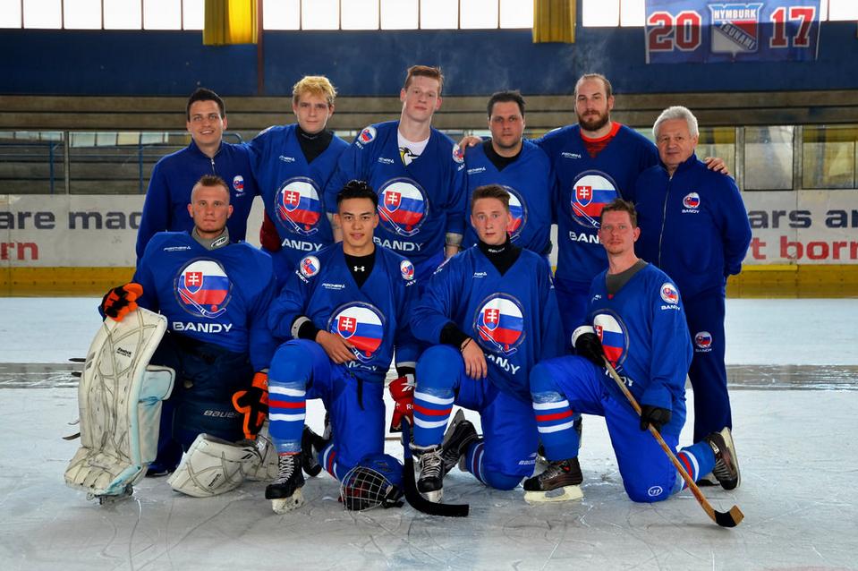 Дебютант хоккея с мячом сборная Словакии