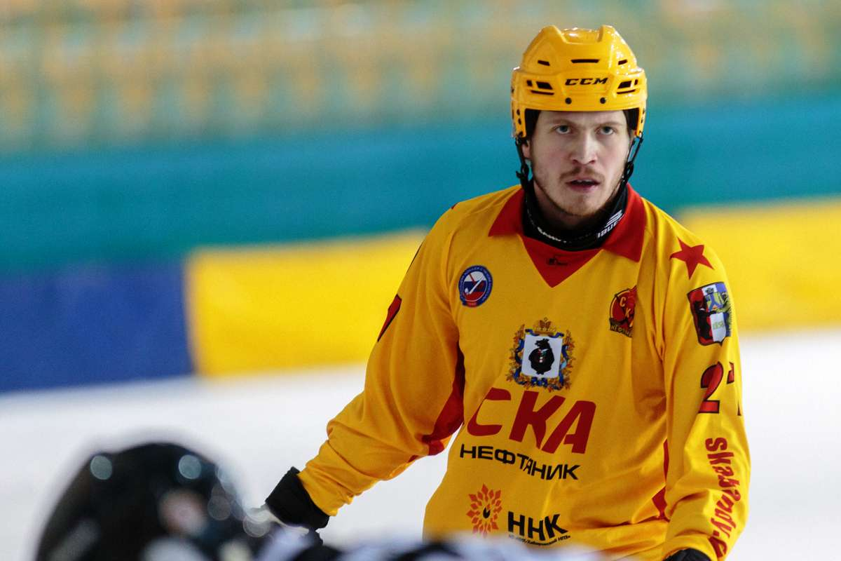 Юрий Шардаков - самый ценный игрок сезона 2016/17 (Фото Вячеслава Айкина)