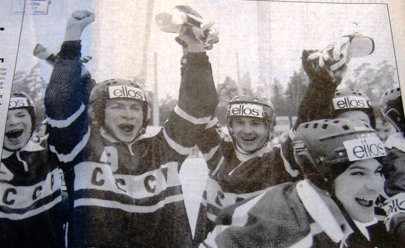Ханс андерсон хоккей с мячом швеция