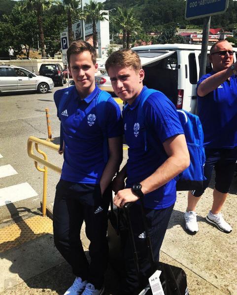 Динамовцы прилетели в Сочи (Фото Instagram)