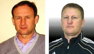 Сергей Мяус (слева) иМихаил Юрьев