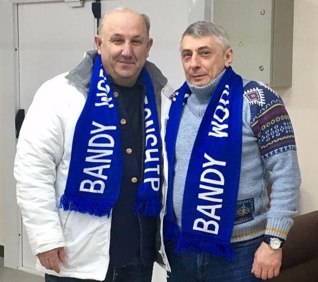 Андрей Сельский и Владимир Мельник.