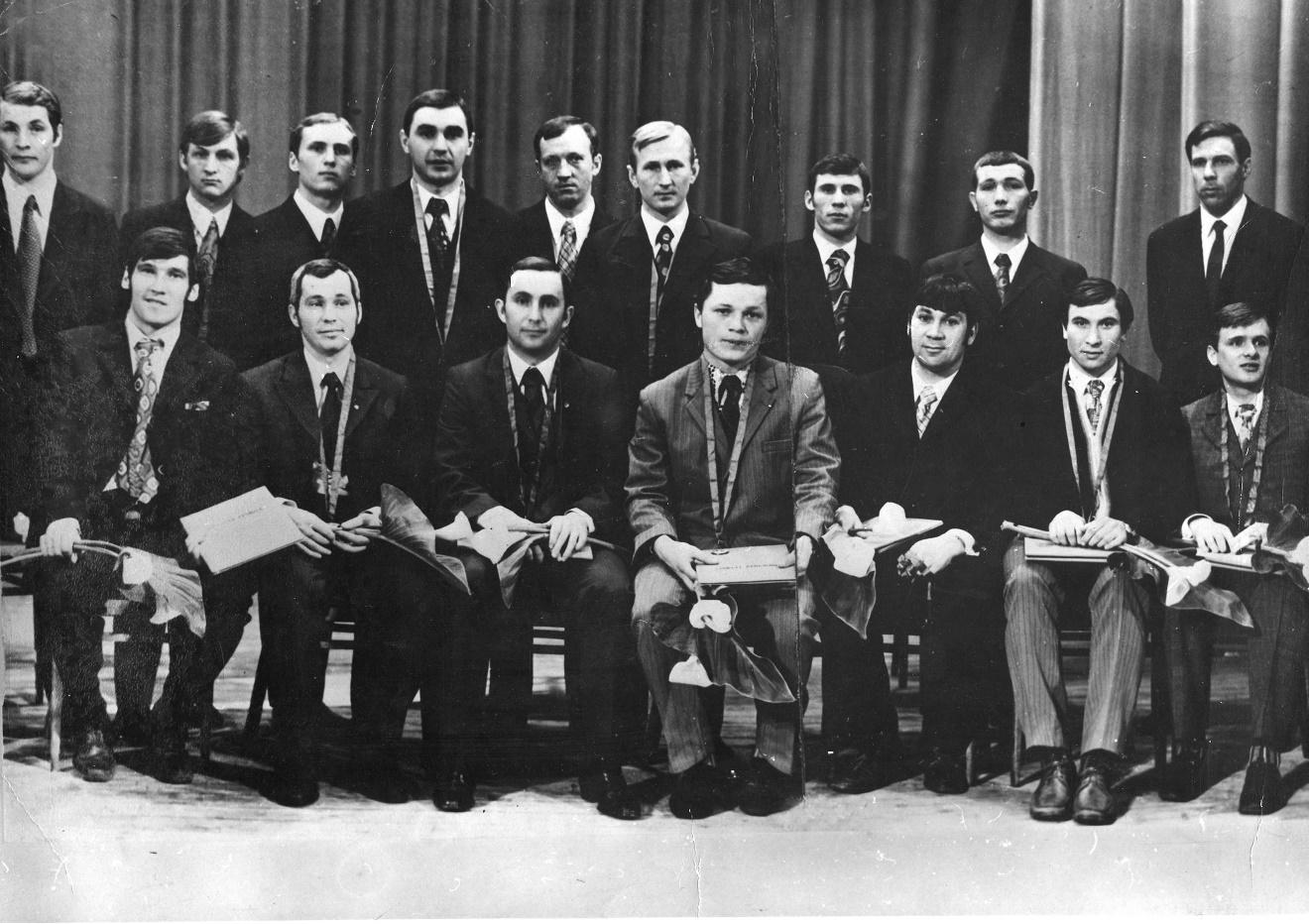Хоккеисты «Кузбасса» - бронзовые призёры чемпионата СССР-1973.