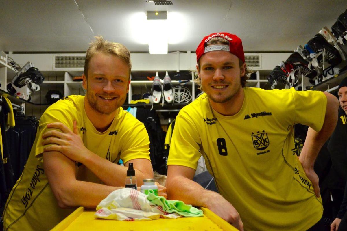 Лёфстедт и Андерссон - снова партнёры по клубу (Фото smt.se)