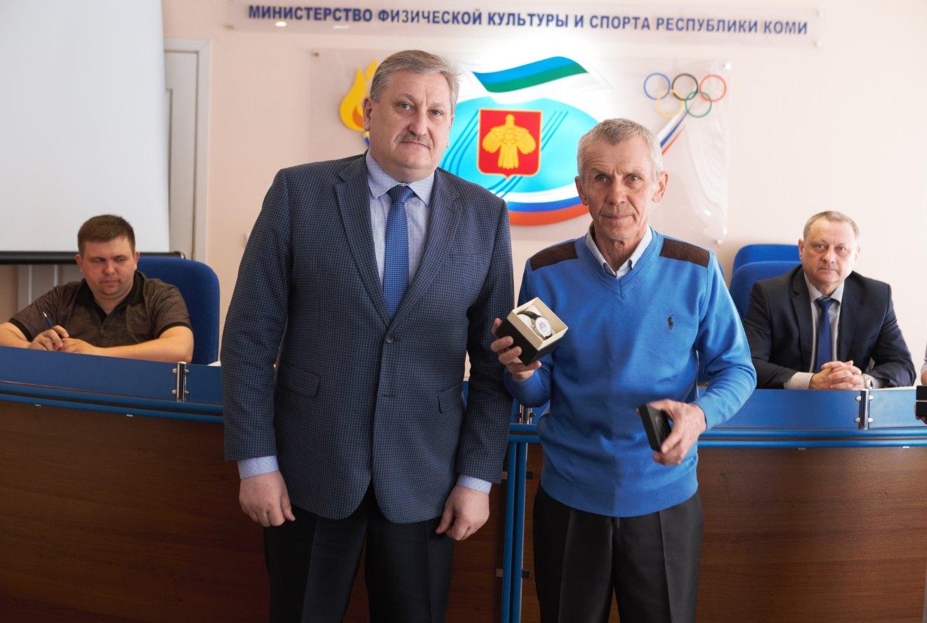 Николай Бережной и Рафик Мухаметзянов.