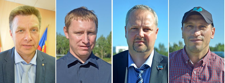 Дмитрий Староверов, Александр Масько, Максим Иванов и Петр Широков