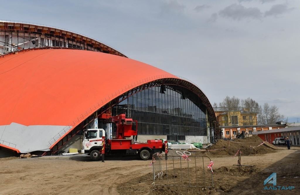 Стадион «Енисей» в Красноярске. Фото Татьяны Глюк
