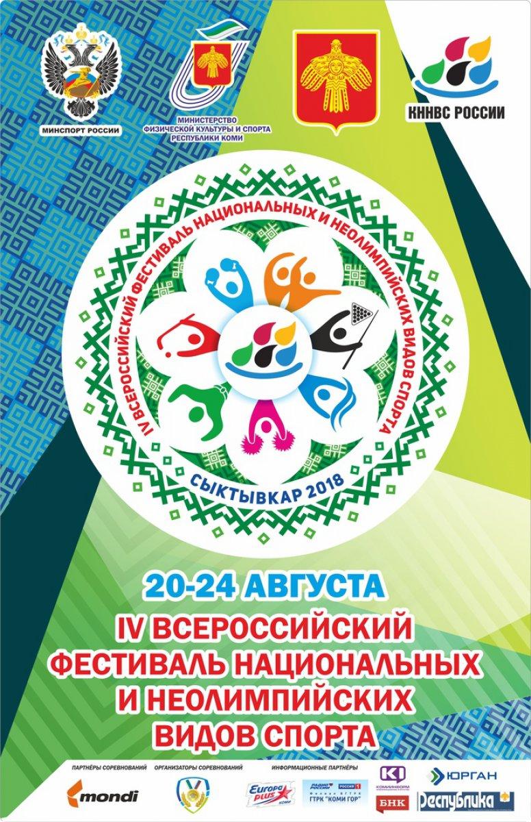 IVВсероссийский фестиваль ННВС. Календарь игр