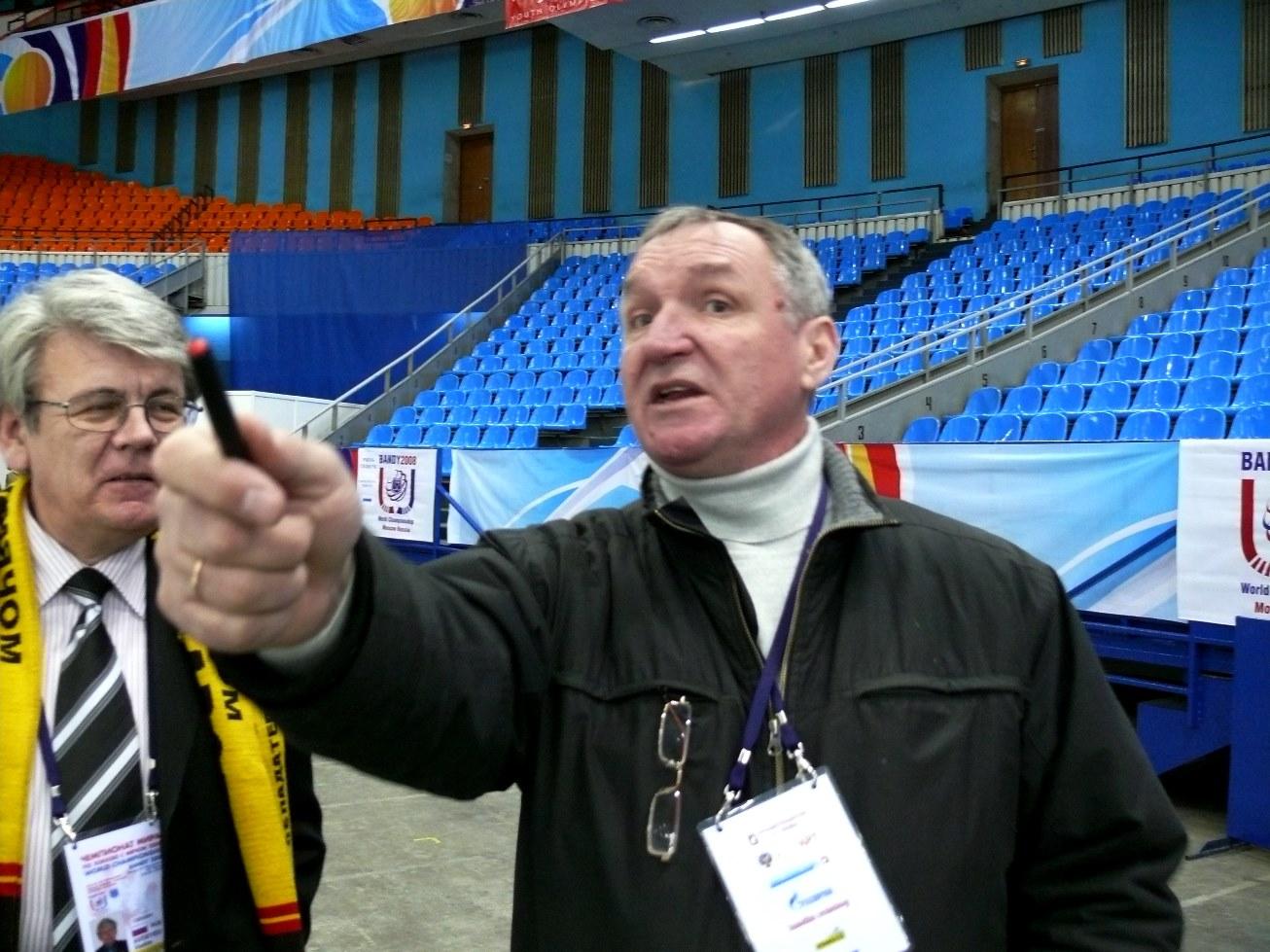 Из истории женского хоккея. Александр Павлович Теняков.