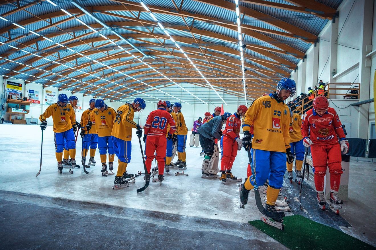 Фото Romus Ramstrom (Svenska Bandyförbundet)