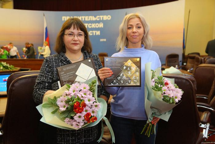 Татьяна Глюк (слева) и Татьяна Соловьева. Фото Андрея Федорова