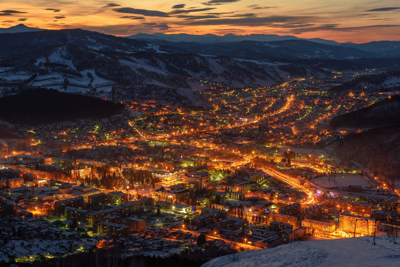 Горно-Алтайск. Фото Олег Липатов