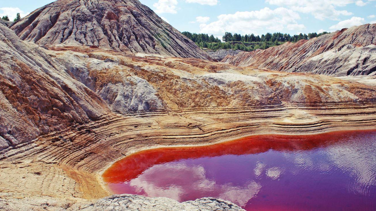 Уральский Марс или Богдановичские глиняные карьеры
