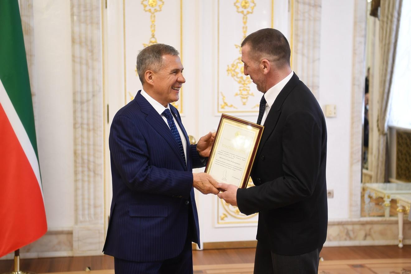 Фото пресс-службы Президента РТ.