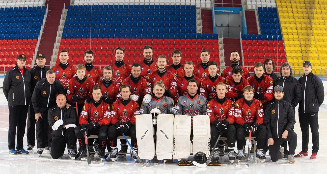 """«СКА-Нефтяник"""" сезона 2018-2019. Фотографии с сайта клуба."""