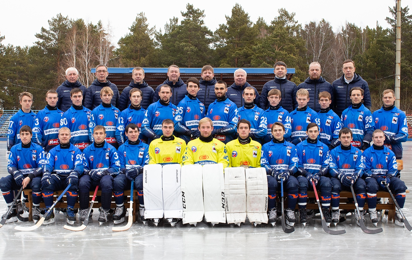 """Байкал-Энергия» сезона 2018-2019. Фото сайта клуба"