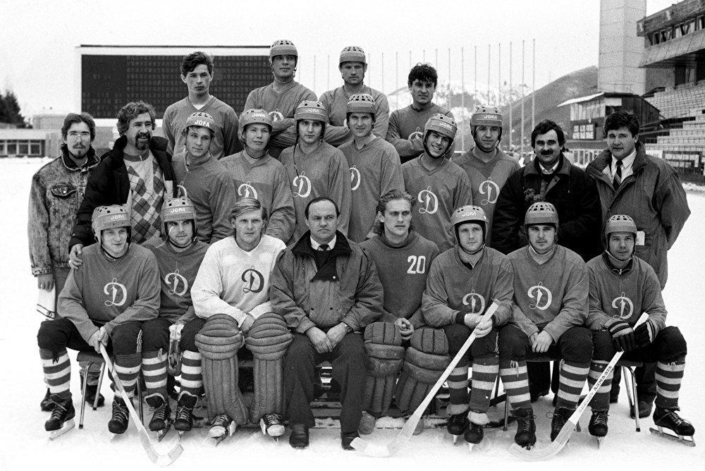 Команда Динамо (Алма-Ата), чемпион СССР 1977 года