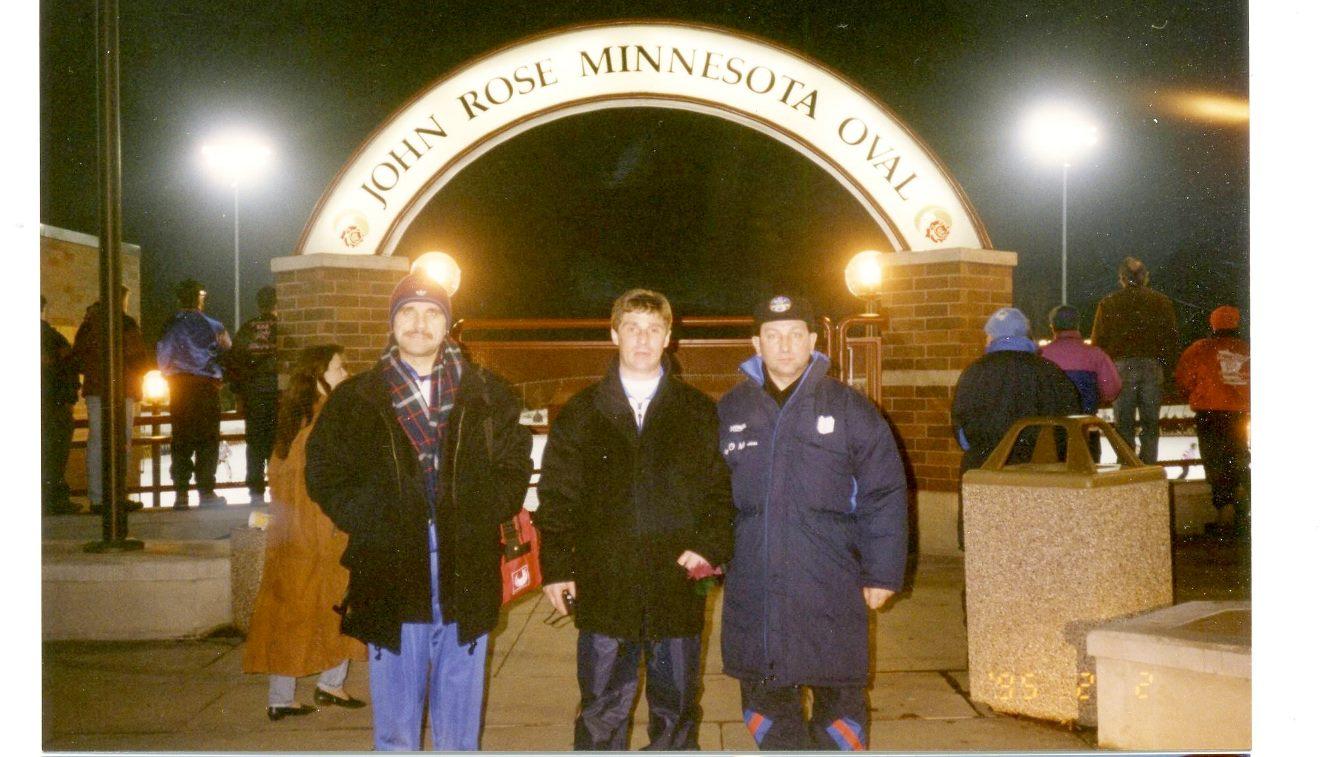 Чемпионат мира 1995 в США: Алексей Маркелов, Игорь Синер и Евгений Константинович.