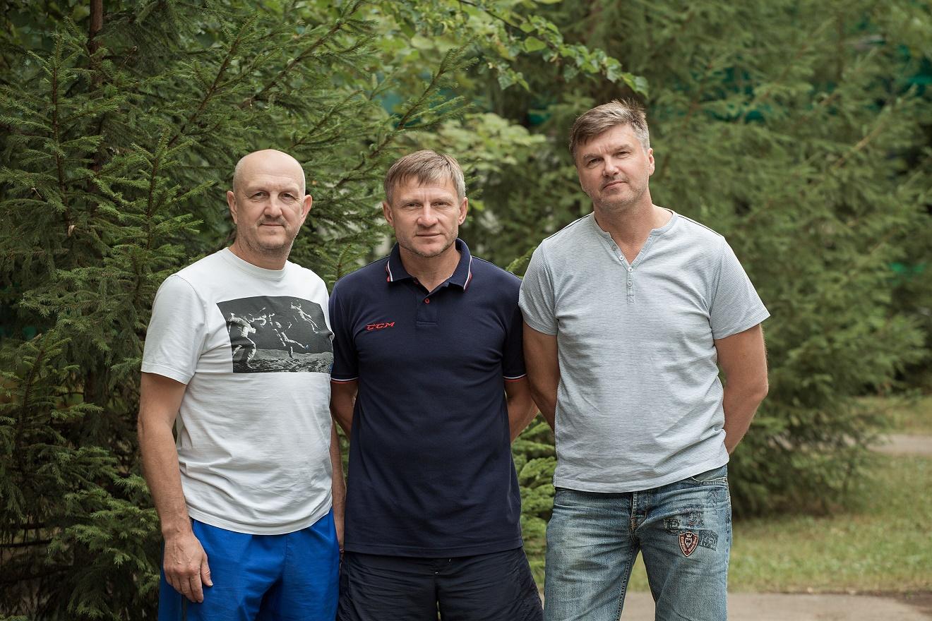 Алексей Фошин, Владислав Новожилов и Владимир Щепалин (Фото Матвея Байгузина).