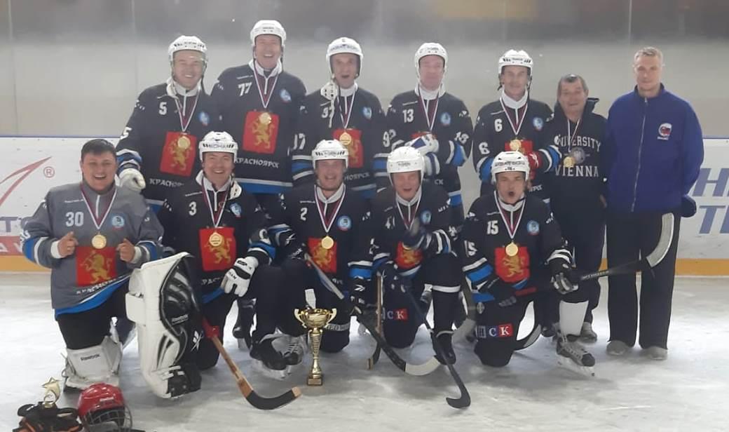 Победитель Чемпионата Европы-2019 по мини-хоккею с мячом команда