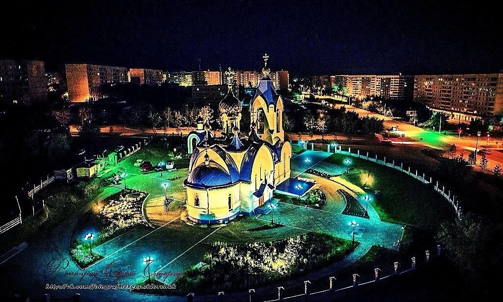 Ночной Сосновоборск