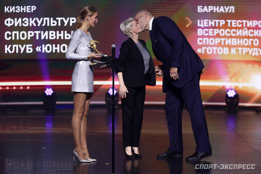 Николай Валуев и Светлана Хоркина (Фото Дарьи Исаевой).