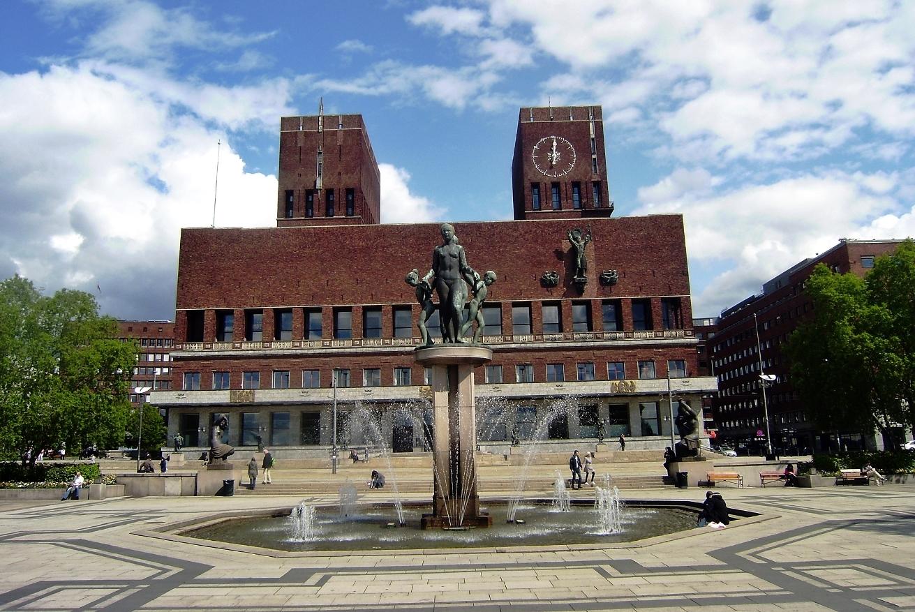Осло, городская ратуша