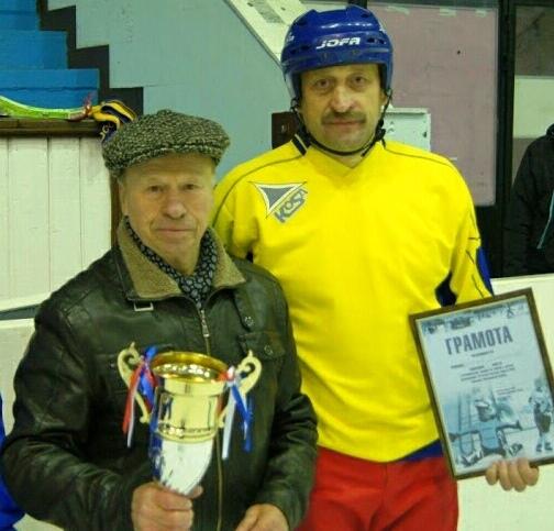 Геннадий Конов и Владимир Бажин 2012 год