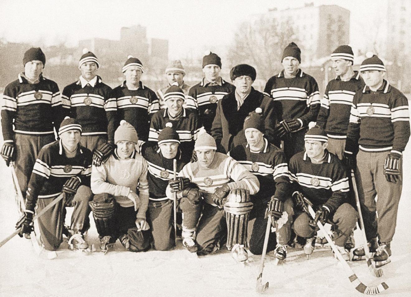 1963 год. Сборная СССР — чемпион мира.