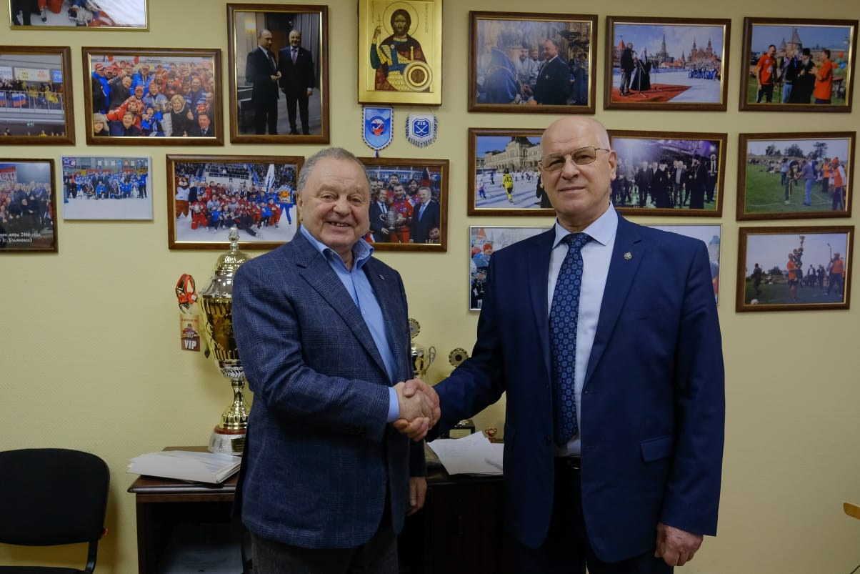 Борис Скрынник и Владимир Собина