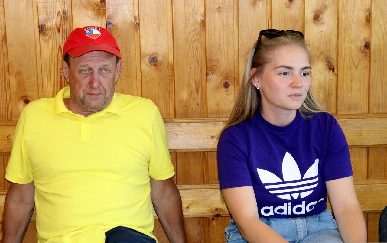 Юрий Бушуев и Настя Заянова